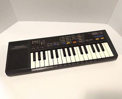 Realistic Concertmate 500 Sampling Keyboard Piano Synthesizer Vintage Works