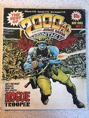 2000AD COMIC .  The Best Of. 1985 Issue #2