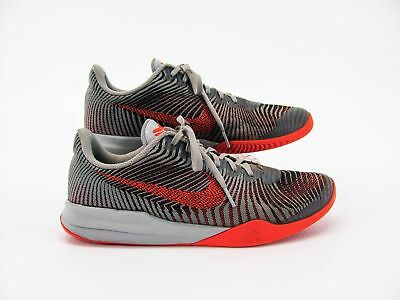 the best attitude 0dac4 bb538 Nike Kobe KB Mentality Men Gray Sneaker Basketball Shoe 10M Pre Owned GQ