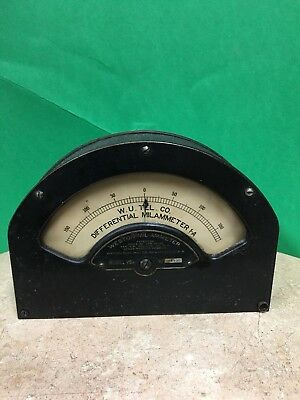 Weston Differential Mil-ammeter A-1 Model 264 With History