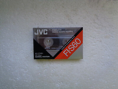 Vintage Audio Cassette JVC FI-S60 * Rare From Switzerland 1990 *