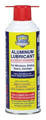 L.C. Wax  Aluminum  Lubricant and Liquid Masking  11 oz.