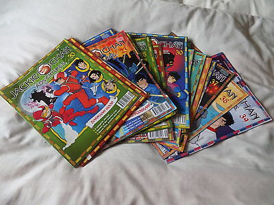 Jackie Chan Adventures Magazines Lot 2