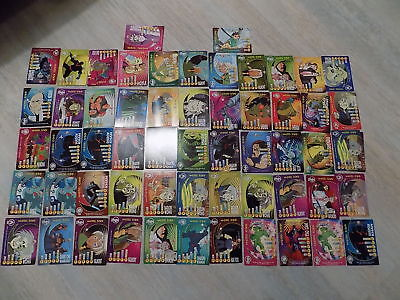Jackie Chan Adventures Bad Guys Cards Lot 2