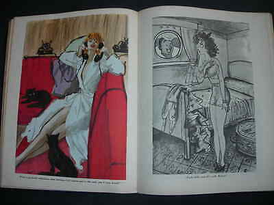 ESQUIRE CARTOON ALBUM 1958  Heinemann BOOK Pictures perfect for Framing