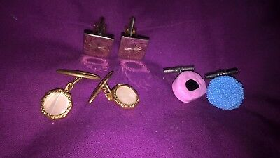 3 x Pairs of Cufflinks Job Lot