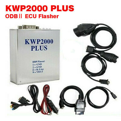 KWP2000 Plus ECU REMAP Flasher Chip Tuning Tool Auto Diagnostic  Flashing Engine