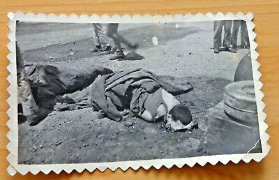 Warning Horrific Wwii Photo Face Blown Off Dead Japanese Enemy Soldier Saipan
