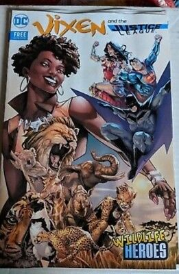 Vixen and the Justice League SDCC 2018 San Diego Zoo Exclusive Promo Comic