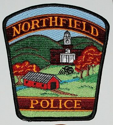 NORTHFIELD POLICE Vermont Covered Bridge VT PD patch
