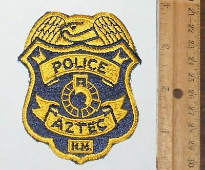 AZTEC POLICE New Mexici NM PD patch