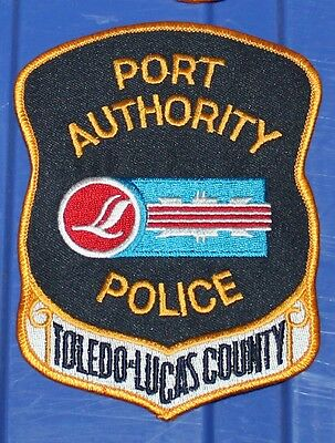 TOLEDO-LUCAS COUNTY PORT AUTHORITY POLICE Ohio OH Airport PD patch FAA