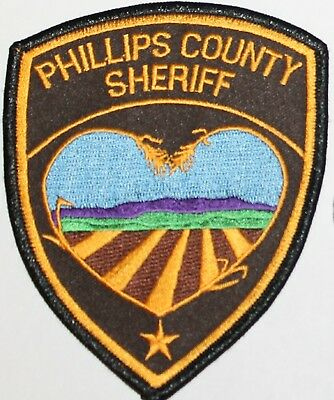 PHILLIPS COUNTY SHERIFF Montana MT Co SD SO patch