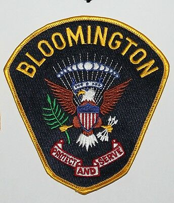 BLOOMINGTON POLICE Minesotta MN PD patch