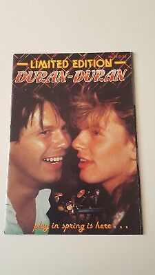 Duran Duran UK Magazine - Limited Edition No24  *RARE*