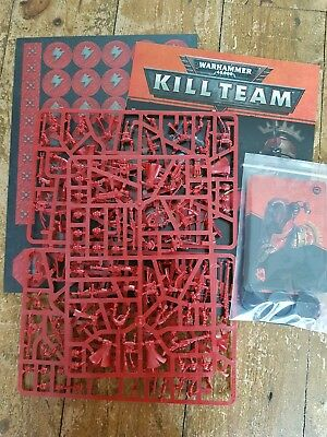 New Kill Team Skitarii with cards and book 40k