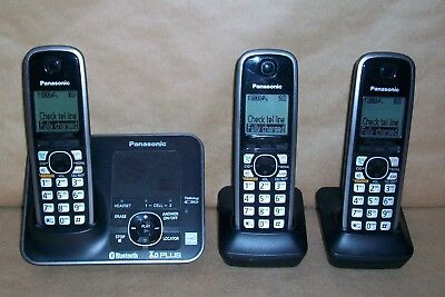 panasonic kx tg7621 bluetooth dect 6 0 handset cordless phone bundle rh picclick com Panasonic Kx tg7874s DECT 6 0 Manual Panasonic 6.0 Plus User Manual