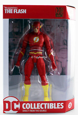 DC Collectibles DC Comics Essentials The Flash Action Figure USA Seller IN STOCK