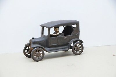 1920's CAST IRON SEDAN TOY By ARCADE LARGER SIZE