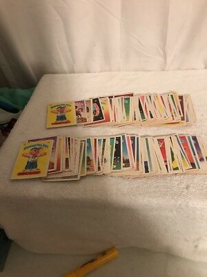 Pre-owned Lot 1986 Garbage Pail Kids Cards Partial Sets A & B 135 Total