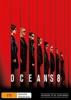 Ocean's 8 (DVD, 2018) (Region 4) New Release