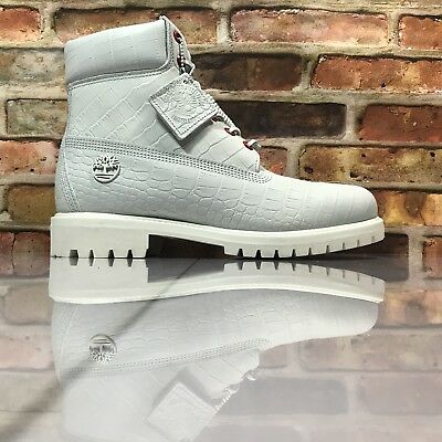 white serpent timberland boots