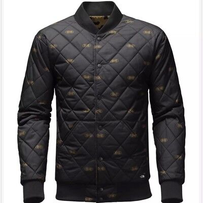 The North Face Men Reversible Jester Quilted Jacket Black Size XL Extra Large