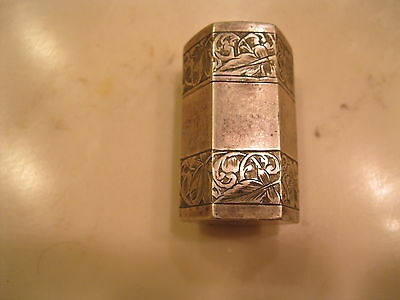 Antique Sterling  Silver Salt Shaker  You Must See 100 Years Old