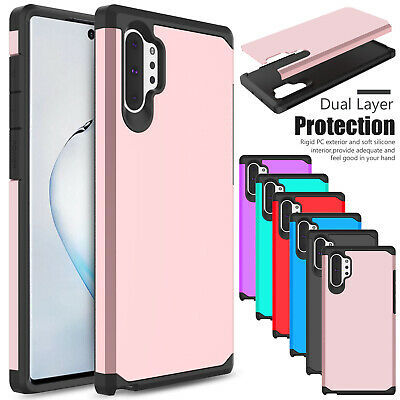For Samsung Galaxy Note 10 Plus/Note 9 Case Shockproof Hybrid Rubber Armor Cover