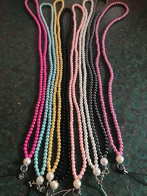 Gorgeous Pearl Lanyard, great for cruises or work Aussie Seller - Nice bling