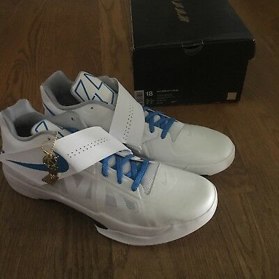 new product e8aaa af737 Nike Zoom KD 4 IV CT16 QS Thunderstruck Battle Tested AQ5103 100 Men s Sz  18 PE