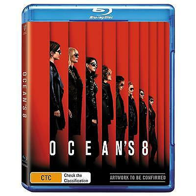 Ocean's 8 (Blu-ray, 2018) (Region B) New Release