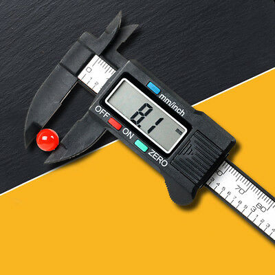 6'' 150mm Practical Digital Vernier Caliper Micrometer Measure Tool Gauge Ruler