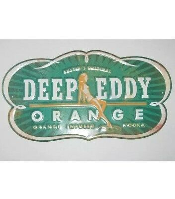 Austin's Original Deep Eddy Orange Infused Vodka Tin Sign