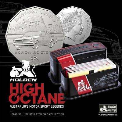 2018 Holden Motorsport Seven Coin Collection,Full Set Sold Out At Ram