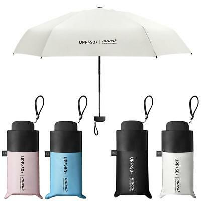 Mini 5 Folding Compact Super Windproof Anti-UV Rain Sun Travel Umbrella Portable