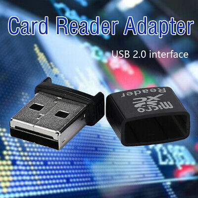 1×Mini High Speed ​​USB 2.0 Micro SD TF SDXC Speicherkartenleser-AdapterS""