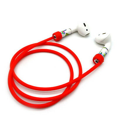 Bluetooth Wireless Headset Silicon Anti-lost Rope Airpods Earbuds