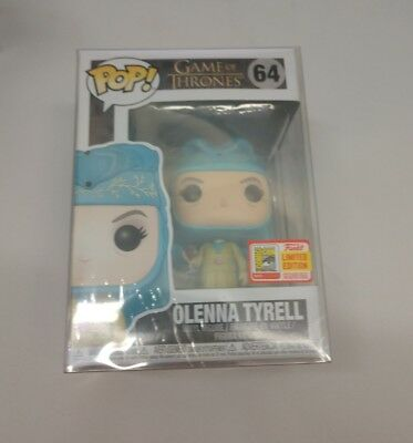 Funko Pop SDCC 2018 Olenna Tyrell Game Of Thrones Exclusive *Official Sticker*