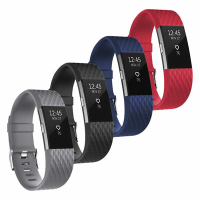 Fitbit Charge 2 Band Stainless Steel Milanese Loop Metal Replacement Accessories