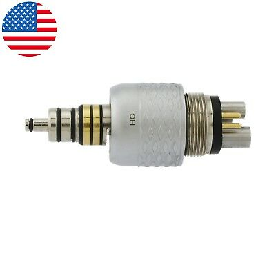 USA COXO Dental Fiber Optic LED Coupler For W&H Roto Style High Speed Handpiece