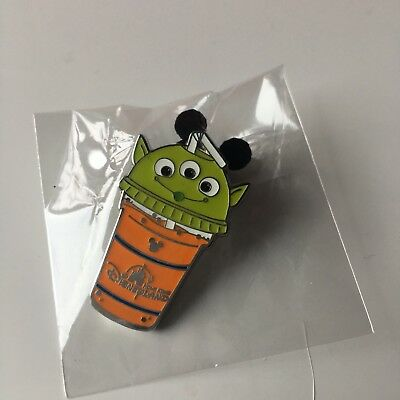 Hkdl Hong Kong Disneyland Hidden Mickey HM Ice Drink cup Toy story Alien Pin
