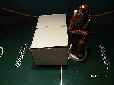 VINTAGE 1982 SIGMA CHEWBACCA BANK NEW NEVER USED MINT NO CHIPS WITH Box