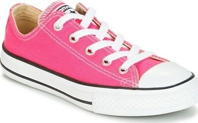 24b129620e94 Converse Infant Kids Junior Girls Chuck Taylor All Star Trainers Shoes  357646C