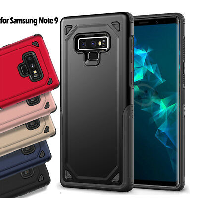 Heavy Duty Protection Rugged Bumper Case For Samsung Galaxy Note 8 9 Cover Skin