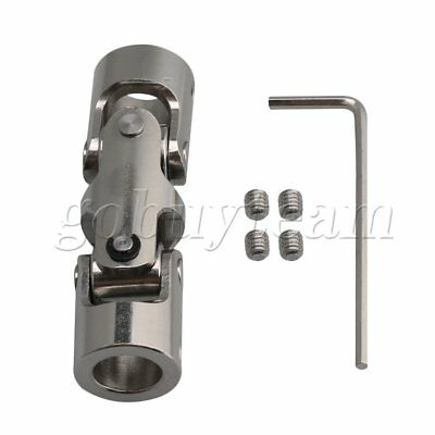 10-10mm Steel Three-section Universal Joint Connector Coupler 16mm OD