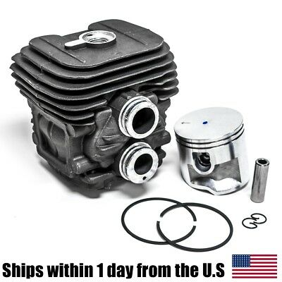 TS410 TS4200 Cylinder Head Piston Kit With Rings Pin Clips 50MM for Stihl
