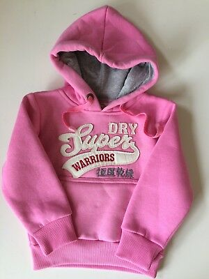*Baby Clothes/ Cute Baby Girls Super Dry Hoodie 12-24 Months*
