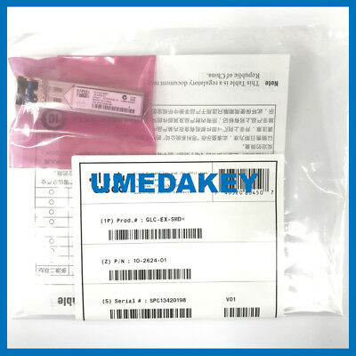 NEW SEALED CISCO GLC-EX-SMD SFP TRANSCEIVER MODULE GBIC (AU Shipping)