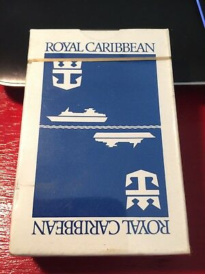 VINTAGE ROYAL CARIBBEAN cruise lines playing cards - SEALED mint